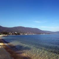 琵琶湖岸の駐車場閉鎖