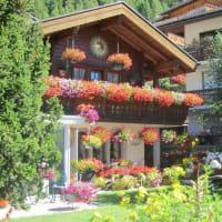 花のある風景~スイス
