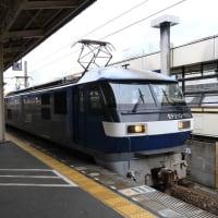 EF210-105 5073レ 静岡駅通過 (2020年9月26日 オマケ静岡駅そば)