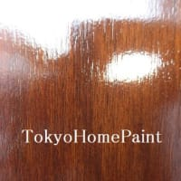 アイカ木製玄関ドア再塗装