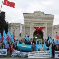 クリミヤ・タタール人とチェルケス人の悲劇を記念する集会が行われた