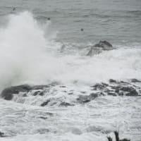 荒れ模様の海