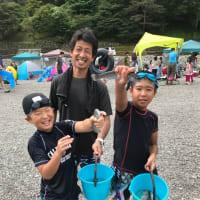 関東一キレイな清流「神流川」で川遊び(^-^)