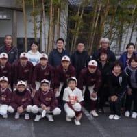 宮崎西中学校野球部様とイワツツジ