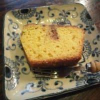 友達に貰った「山ぶどうジャムのパウンドケーキ」