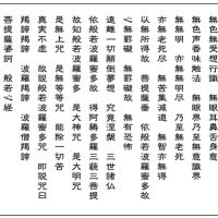般若心経の最強の262文字から伝わる奥深い智慧は、J.S.バッハに通ずる道か、改めて平均律を検証する。