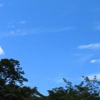 猛烈な暑さの夏空  ③