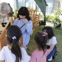 京都から造形女子が三河木綿の手織体験