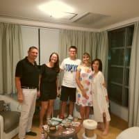 シャンソン歌手リリ・レイLILI LEY  フランス語の夜 ナタリー先生と家族