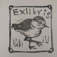No. 1957 千鳥のExlibris