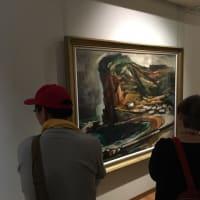 安来市加納美術館 画家加納莞蕾 大回顧展での対話型鑑賞会の様子③をお届けします(2019,6,2開催)