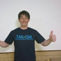 新色登場!TAK-ISM Tシャツ販売です。締切は5/31まで!