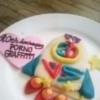 【今月末まで】 ポルノグラフィティ20周年お祝いのケーキ(の一部) 【展示してます。】