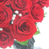 ♪真赤な薔薇のアレンジ♪