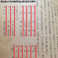 鼻血自演のテロリストもどき井戸川 元双葉町町長の公共詐欺と人工地震騒ぎ。大昔から犯罪者だ相馬藩の公務員らは。