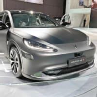 脱炭素で進む自動車のEV化 中国のハイテク企業が相次いで参入 日本は