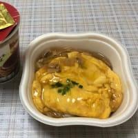 カップ麺と天津飯