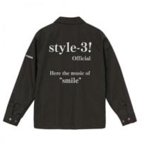 「style-3!コーチジャケ...」