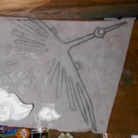 さくら教室と空の湯の下絵の是正