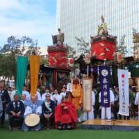 100年の時を経て~復活して「江戸型山車」の巡行 令和元年 赤坂氷川神社