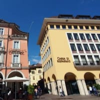 ボルツァーノの街 イタリアなのに広場の銅像はドイツ人!?