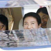 天皇ご一家の車内での座席位置に感じる違和感