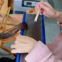 アルパカの糸を使う