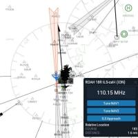 那覇空港の沖合い滑走路