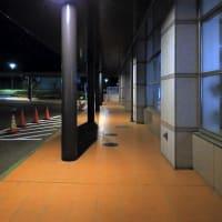 夜の高井病院/奈良県天理市蔵之庄町