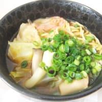 キムチチゲ風 煮込みラーメン
