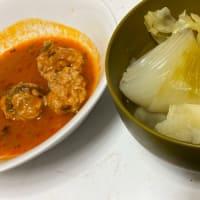 野菜メインのポトフとミートボール #くまのレシピ #グルメ