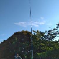 第二回同軸コリニアアンテナ研究会合同移動運用 5月23日(日)
