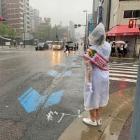 六本松朝の街頭活動