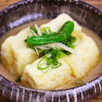 涼しい日にはおすすめ♪揚げ出し豆腐!箱根 自然薯の森 山薬