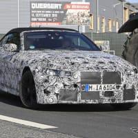 【BMW】新型「M4カブリオレ」が初出現!ついに最高出力500馬力の領域へ!