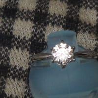 ダイヤモンドの婚約指輪を一粒ダイヤのネックレスにリフォーム