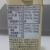 実証:通勤途中に糖質の低い「糖質オフ野菜ジュース」と「おいしい無調整豆乳」を飲んでみる
