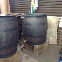 雨水タンク本物の樽のよう!>アーティフィシャルバレル ウィリアム。