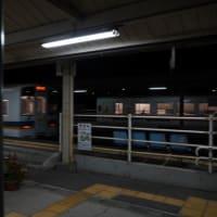 肥薩おれんじ鉄道佐敷駅もクリスマスバージョン