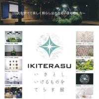 【お知らせ】10月7日~11日(金)「IKITERASU  いきとしいけるものをてらす展」が開催されます