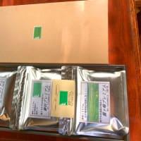 八ヶ岳正面の茅野市ふるさと納税返礼品の午後の森コーヒーを発送する。