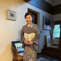 令和2年2月25日出張着付は藤井寺市、訪問着のお着付けとヘアセットのご依頼でした。