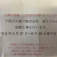 【楽成体からのお知らせ】