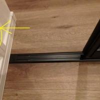 リビング階段の寒さ対策にタチカワブラインド プレイススウィング