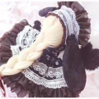 【ドール】うさぎさんドレス(=・x・=)♡