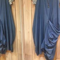 ワンピースや、長い丈のスカートはトレンド