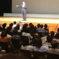 公明党時局講演会を伊都文化会館で開催。開会挨拶を致しました。「夜回り先生」こと水谷修先生の講演!