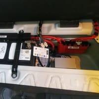 BMWのバッテリー交換にて入庫です