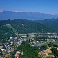 議会全員協議会&上生坂上空からの風景
