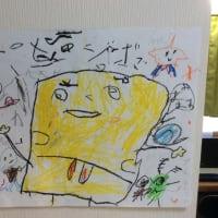 息子NANAの描いた絵🎨